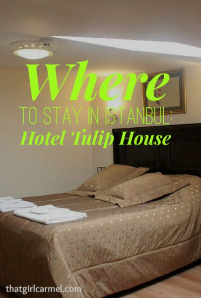 A review of Hotel Tulip House, an Istanbul Hotel