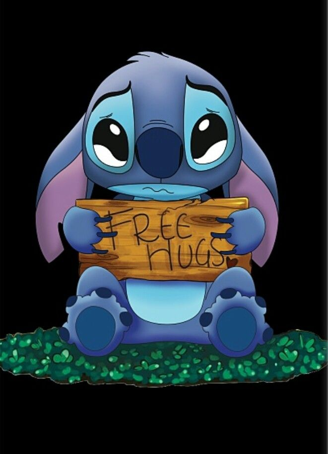 I wanna hug Stitch