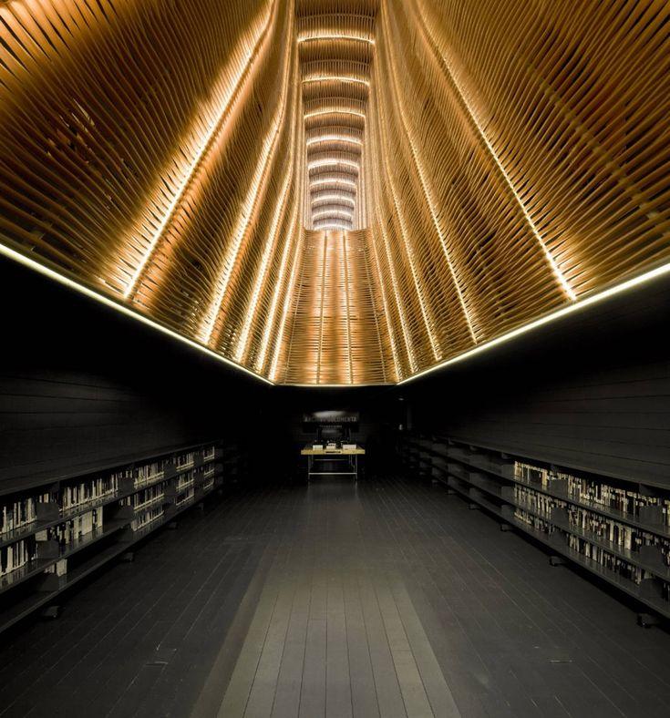 in love with this.  Cinema Center In Matadero de Legazpi / Churtichaga & Quadra Salcedo Architects