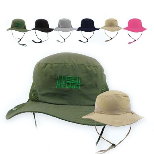 Microfiber sun hat with SPF50 protection. One size fits most. Foldable to pocket. Super lightweight with UV protection.