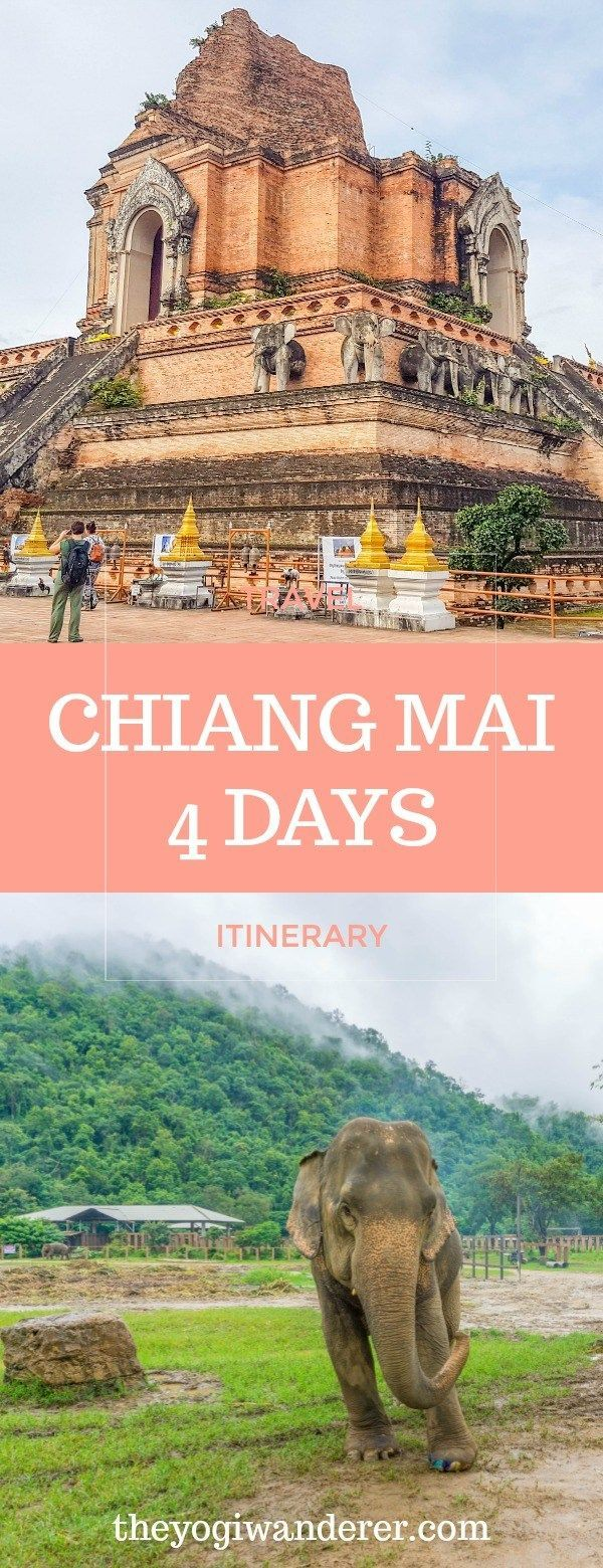 What to do in Chiang Mai: things to do in Chiang Mai in 4 days #travel #ChiangMai #Thailand
