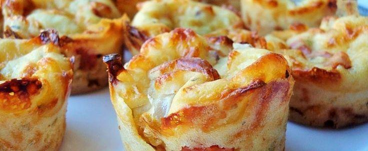 Des pizza-muffins que tu dois absolument essayer! featured image