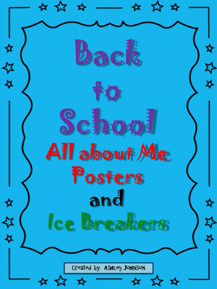 back to school icebreakers Fun catholic ice breaker games  that goes into staring the new school year off  students excited to be in your class and excited to come back again next .