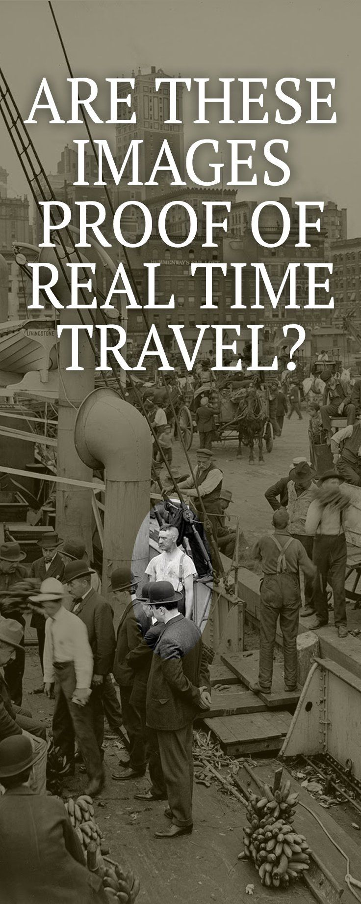 These photos and videos will definitely shake things up and make you question if time travelers really do exist!