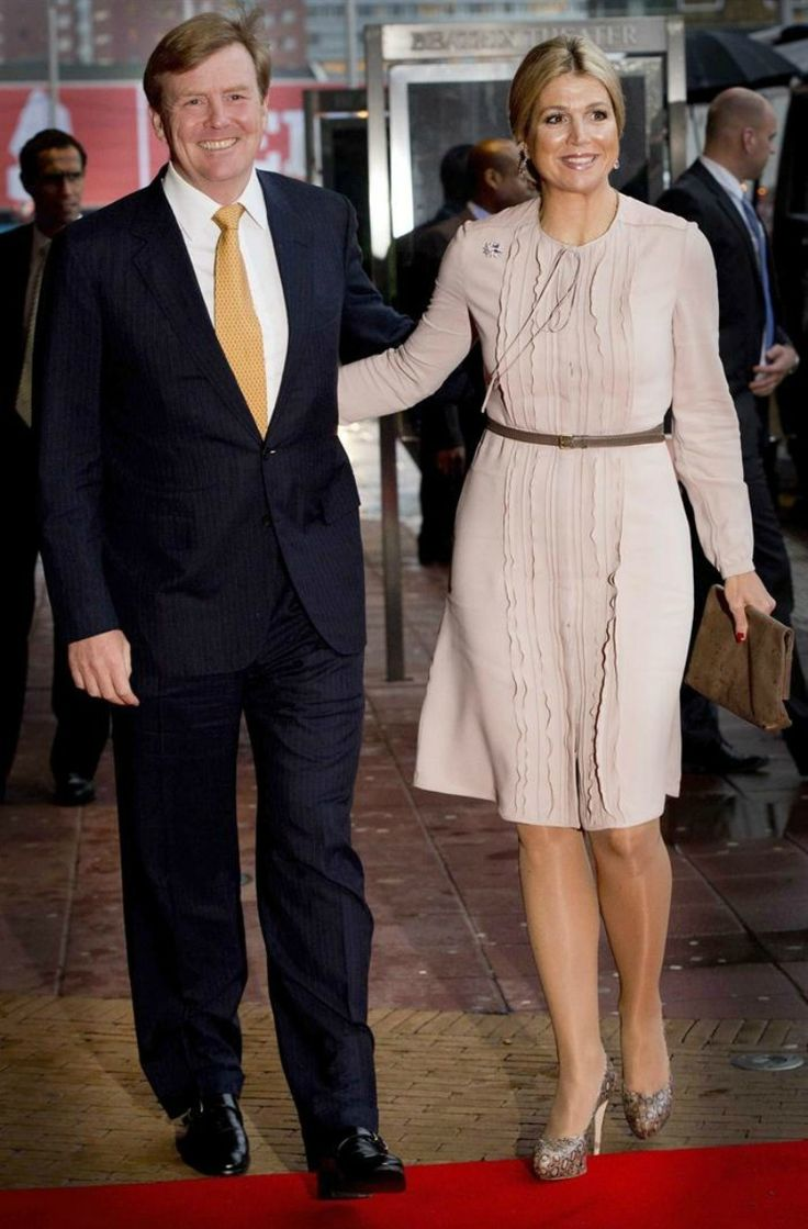 Queen Beatrix celebrate her 75th birthday with the royal family, staff, employees and other invited guests on February 1, 2013