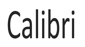 3 Awesome All Calibri Font Free Download