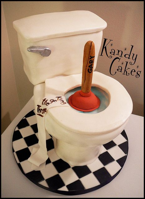 Toilet Cake by Kandy Cakes | Flickr - Photo Sharing!