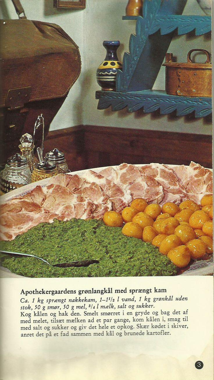Grønlangkål med sprængt kam from 'Kro Mad er God Mad'