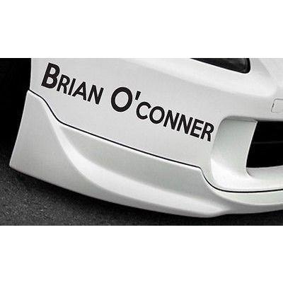 RIP Paul Walker - Brian O'Conner Sticker