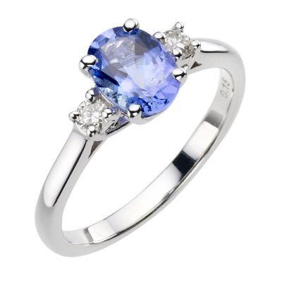 Tanzanite engagement ring... Mine :-)