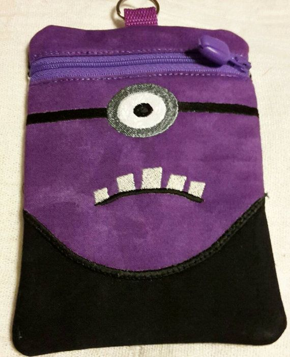 Check out this item in my Etsy shop https://www.etsy.com/listing/272210814/evil-purple-minion-zipper-bag-01