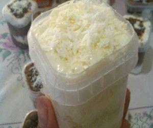 Creme Ninho de Coco para Bolo no Pote