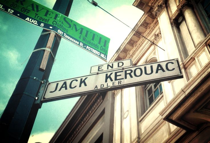 Jack Kerouac Alley (formerly Adler Alley or Adler Place) is a one-way alleyway in Chinatown, San Francisco, California, that connects Grant Avenue and Columbus Avenue. The alley is named after Jack Kerouac, a Beat Generation writer who used to frequent the pub and bookstore adjacent to the alley.