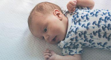 Newborn hiccups