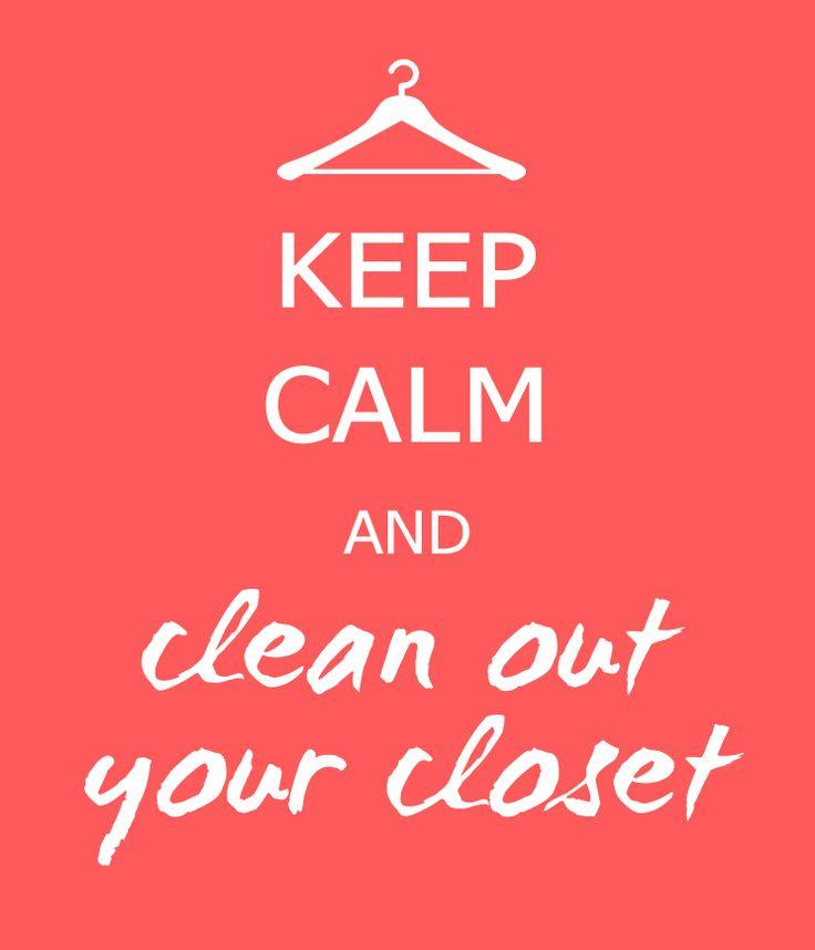 closet cleaning steps  (PL/EN site) http://fashavable.blogspot.com/2016/05/porzadki-w-szafie-w-5-krokach-closet.html