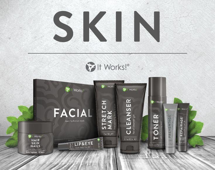 Erhalten Sie bis zu 40% RABATT It Works Skin Care Line: Gesichtsapplikatoren Deh