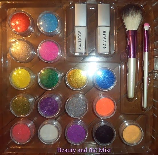 Beauty and the Mist - everything about beauty: Glitter Tattoo equipment