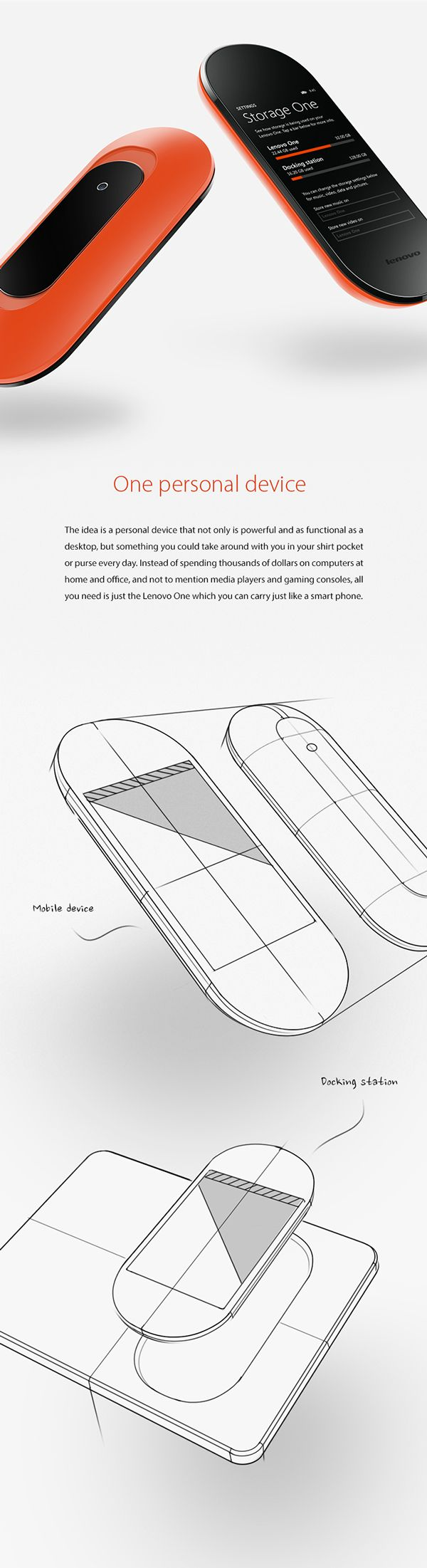 Lenovo Mobile Computing by Peter Braakhuis, via Behance