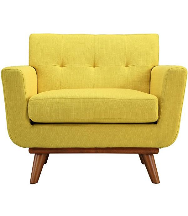 Yellow armchair from the Citrus collection