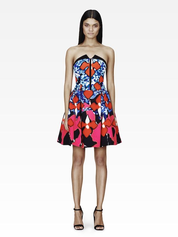 We're obsessing over this bright print. Shop Peter Pilotto for Target starting February 9.