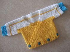 Ravelry: Surplice Baby Jacket pattern by Elizabeth Zimmermann