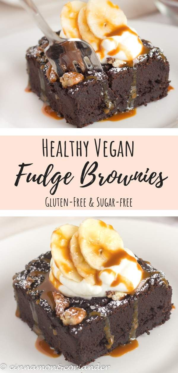 Vegan Brownies with Black Beans & Banana   Brownies without remorse
