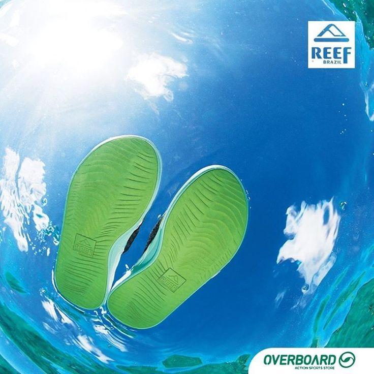 Chinelo ou sandália? Como você chama? Produtos @reef_brasil aqui na Overboard. (Link na Bio) . . .  @reef #Reef #Overboard #goodvibes #ocean #mar #oceano #vibe #surf #ReefBR #Chinelo