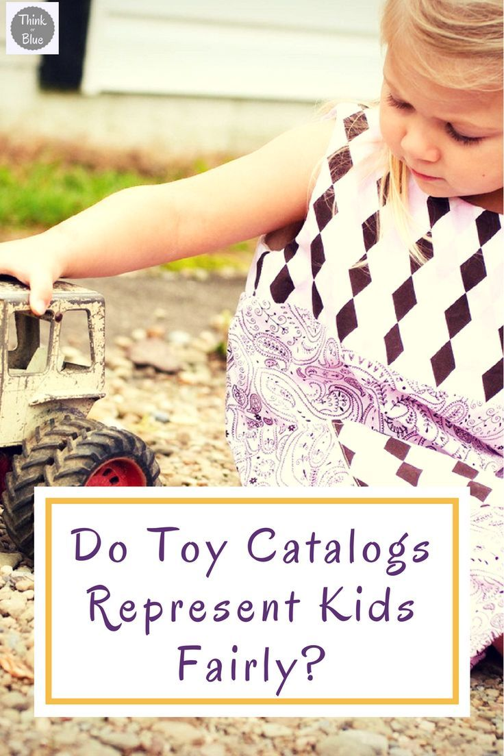 Toys have made some progress with the pink and blue aisles, but toy catalogs could do better.