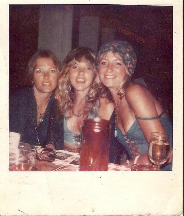 Stevie Nicks with Robin Anderson and Christine McVie