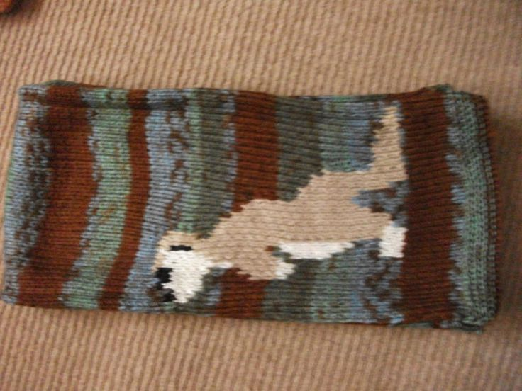 Meerkat Scarf - Knitting creation by mobilecrafts   Knit.Community