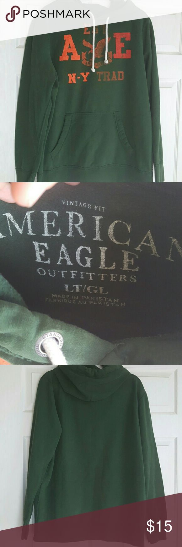 American Eagle hoodie Winter green American Eagle hoodie. No signs of wear. American Eagle Outfitters Shirts Sweatshirts & Hoodies