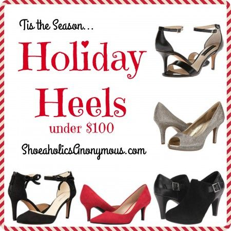 'Tis The Season: 2015 Holiday Heels Under $100