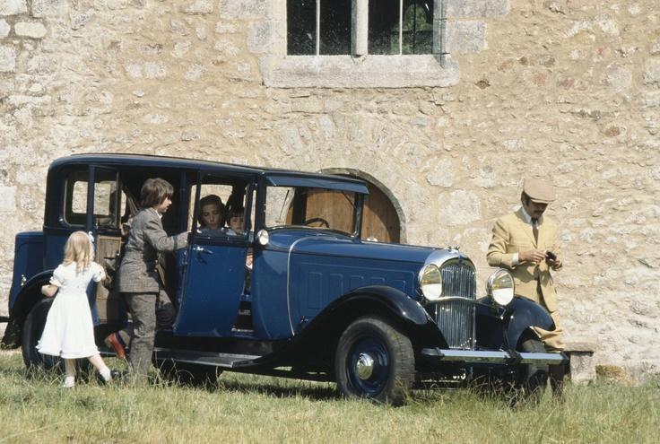 Retour en 1932 pour un we dans la maison de campagne en C6 G  !