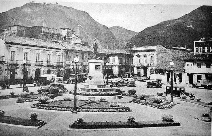 Bogota _Plaza de San Victorino año 1937 como cambio de año en año, hasta hoy.