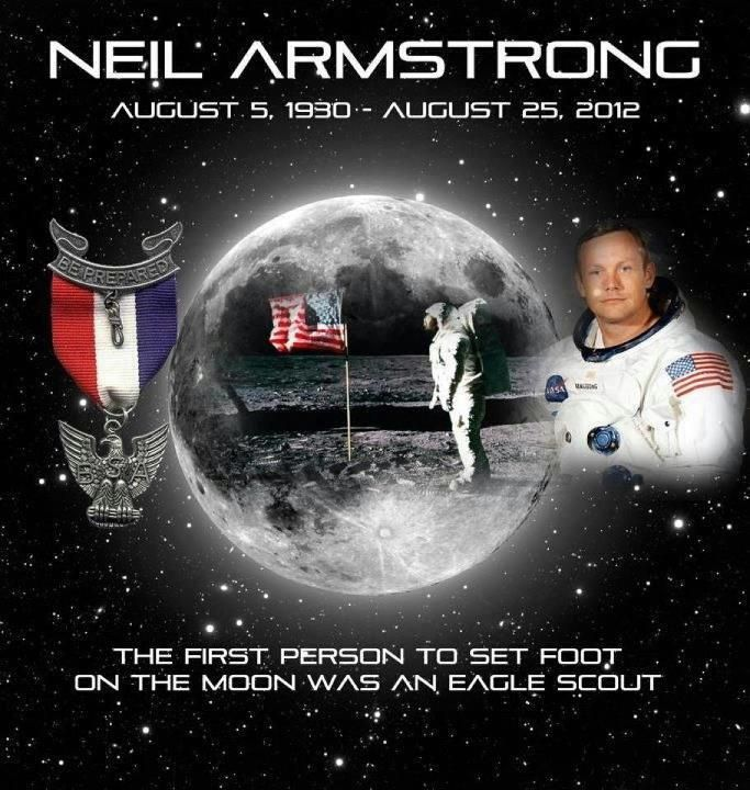 Neil Armstrong Eagle - Pics about space