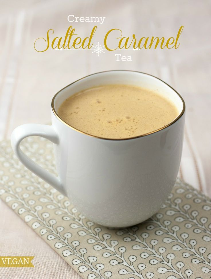 Creamy Salted Caramel Tea | Produce On Parade