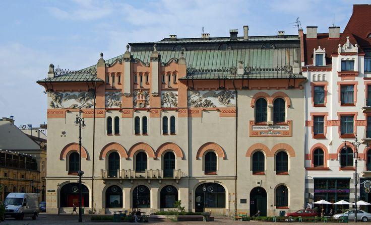 Teatr Stary w Krakowie po przebudowie przez Mączyńskiego i Stryjeńskiego w latach 1903-1906