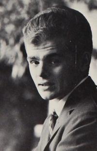 """Gary Burghoff - """"Radar O'Reilly"""" from M.A.S.H. - in the 1962 """"Era"""" yearbook of Delavan-Darien High School in Delavan, Wisconsin."""