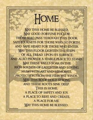 Home Prayer Said this prayer tonight while we smudged our new home ❤️❤️
