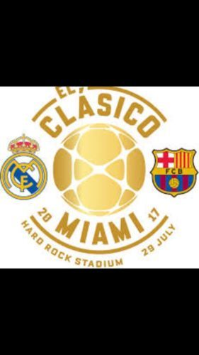 Other Soccer 2914: International Champions Cup - El Clasico: Real Madrid Vs. Fc Barcelona -> BUY IT NOW ONLY: $5000 on eBay!