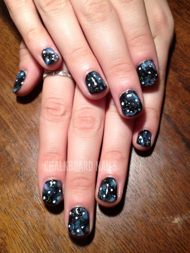 57 best Out of this World Nail Art images on Pinterest   Nails ...