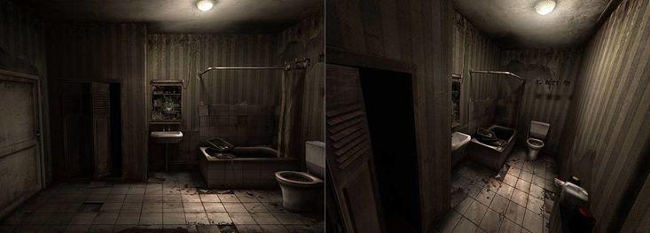 ArtStation - Old PS2 environments, Benjamin LUCAS