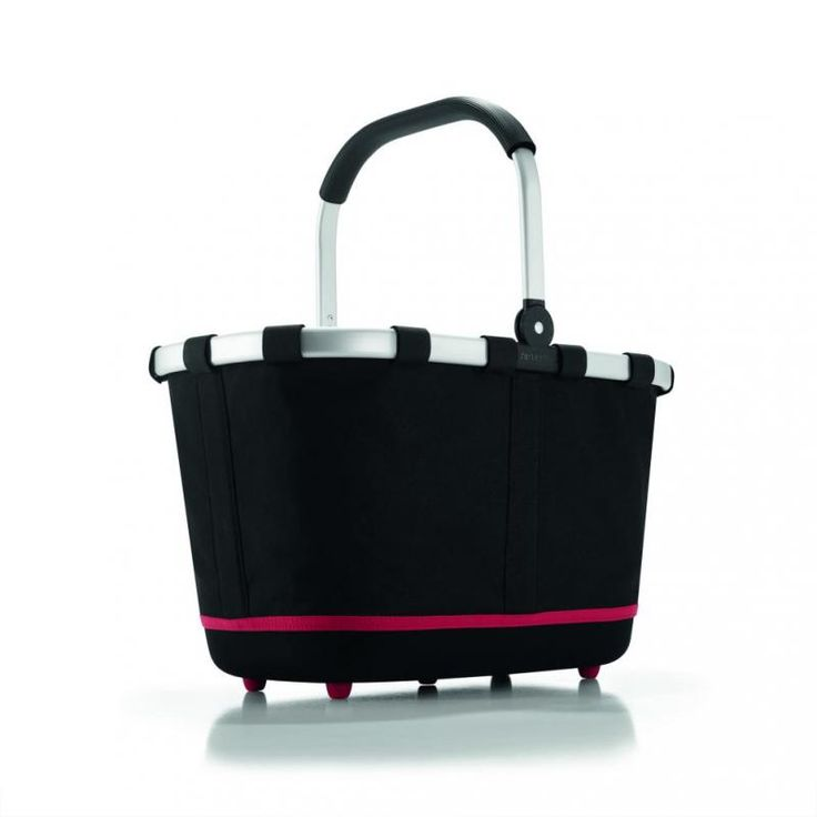 Koszyk carrybag 2 black - DECO Salon.Multi-functional shopping cart from the German company Reisenthel. It will be useful for shopping, garden, home #giftidea #dladomu #accessories