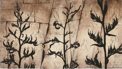 March Andrea Miller print contemporary new zealand art kura gallery