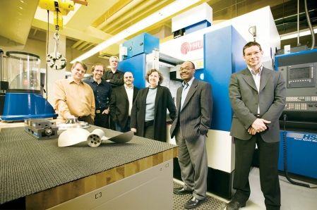L'équipe du Laboratoire d'ingénierie des produits, des procédés et des systèmes (LIPPS)