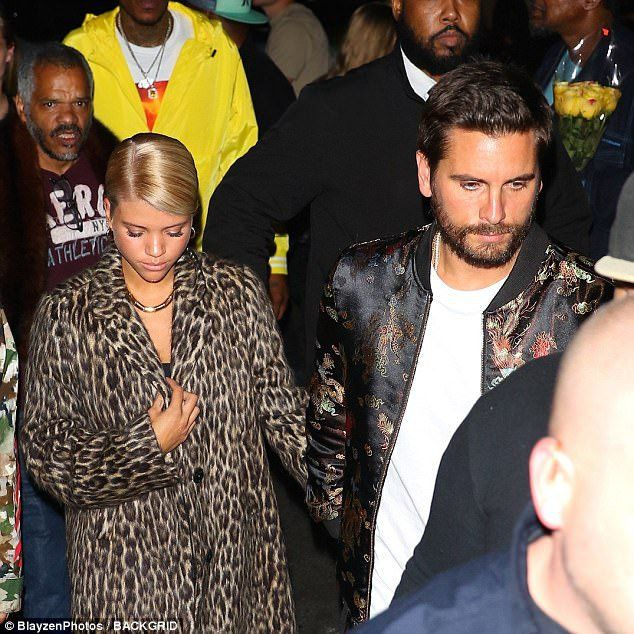Scott Disick Parties With Girlfriend Sofia Richie In New York