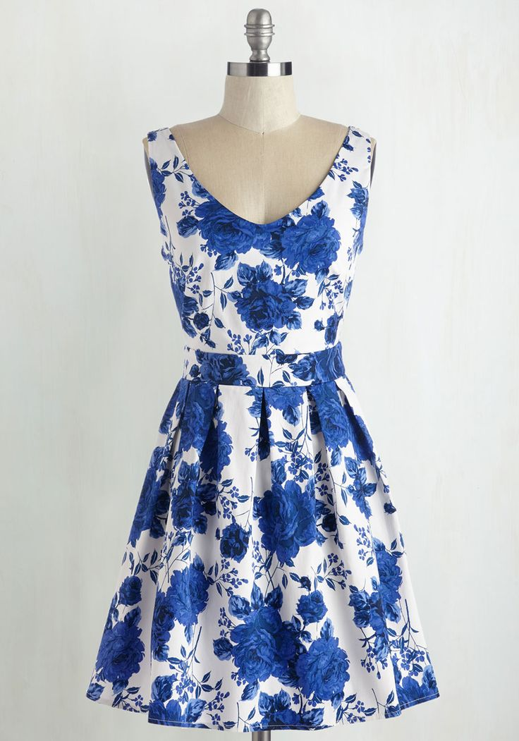 Bookmaking Brunch Dress in Roses, @ModCloth
