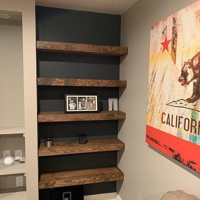 Floating Shelves Wood Shelf Bathroom Shelf Ledge Shelf
