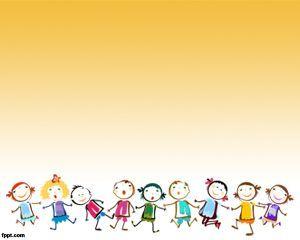 Children Game PowerPoint template. Descargar gratis desde el enlace