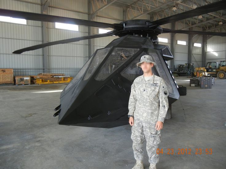 Is this the first leaked image of a new U.S. Stealth Helicopter or just a model used for a new Osama Bin Laden movie?
